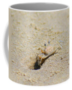 Sand Crab Digging His Hole Coffee Mug