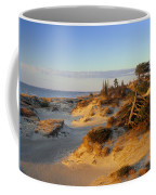 Sand Dunes At Sunset, Lake Huron Coffee Mug