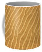 Sand Ripples Abstract Coffee Mug