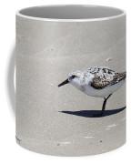 Sanderling On The Beach Coffee Mug