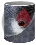 Sandhill Crane At Rest Coffee Mug