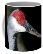 Sandhill Cranes Close Up Coffee Mug