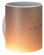 Sandhill Cranes To The Sun Coffee Mug