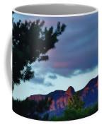 Sandia Mountains At Sunset Coffee Mug