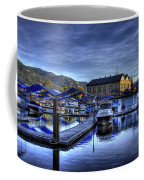 Sandpoint Marina And Power House Coffee Mug