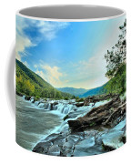 Sandstone At New River Coffee Mug