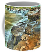 Sandstone Falls In The New River Coffee Mug