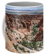 Sandstone Fins Of Arches National Park Coffee Mug