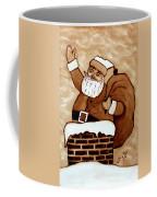Santa Claus Gifts Original Coffee Painting Coffee Mug