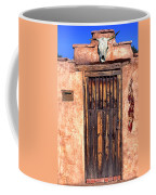 Santa Fe Door Coffee Mug