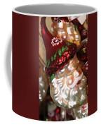 Santa Glass Ornament Coffee Mug
