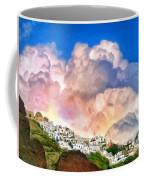 Santorini Sunrise Coffee Mug