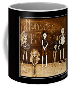 Sarah's Monster High Collection Sepia Coffee Mug