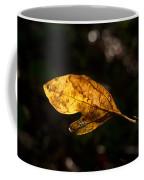 Sassafras Leaf Glowing Coffee Mug