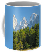 Sasso Lungo Group In The Dolomites Of Italy Coffee Mug