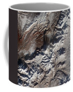 Satellite Image Of Russias Kizimen Coffee Mug