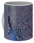 Satellite View Of Buffalo, New York Coffee Mug