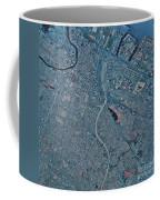 Satellite View Of Newark, New Jersey Coffee Mug