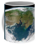 Satellite View Of The Ob And Yenisei Coffee Mug