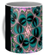 Satin Flowers And Butterflies Fractal 122 Coffee Mug