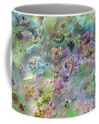 Satin Flowers Coffee Mug