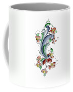 Scandinavian Flower I Coffee Mug