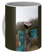Scarecrow Garden Art Coffee Mug
