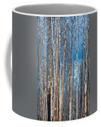 Scarred Pines Yellowstone Coffee Mug by Steve Gadomski