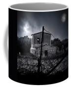 Scary House Coffee Mug
