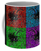 Scary Spider Serigraph Coffee Mug by Al Powell Photography USA