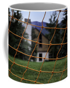 Scene Through A Volley Ball Court 2 Coffee Mug