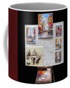 Scenes Of Paris For Sale Coffee Mug