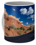 Scenic Drive Through Capitol Reef National Park Coffee Mug