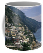 Scenic View Of The Beach And Hillside Coffee Mug