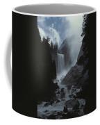 Scenic View Of Vernal Fall Coffee Mug
