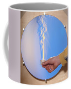 Schlieren Image Of A Candle Coffee Mug