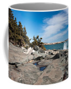 Schoodic Waves 4645 Coffee Mug