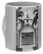 School House In Black And White Coffee Mug
