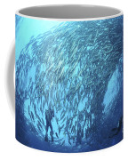 School Of Jacks And Divers At Liberty Coffee Mug