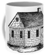 Schoolhouse, 18th Century Coffee Mug