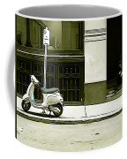 Scooter And Man - Illustration Conversion Coffee Mug
