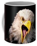 Screaming Eagle II Black Coffee Mug