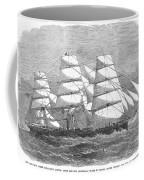 Screw Steamship, 1864 Coffee Mug