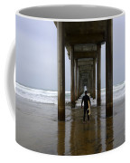 Scripps Pier Surfer 3 Coffee Mug