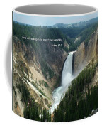 Scripture And Picture Psalms 42 7 Coffee Mug