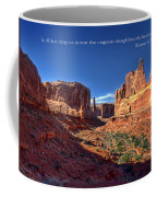 Scripture And Picture Romans 8 37  Coffee Mug