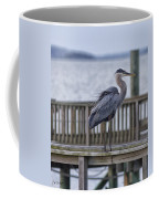 Scruffy Heron Coffee Mug