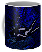 Scuba Girl Coffee Mug