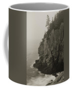 Sea Cliff At Quoddy Head  Coffee Mug