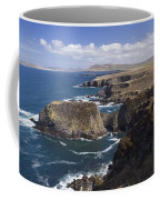 Sea Cliffs And Coastline Near Erris Coffee Mug